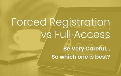 Forced Registration vs Full Access
