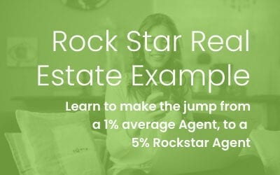 5% Rock Star Real Estate Agent Example