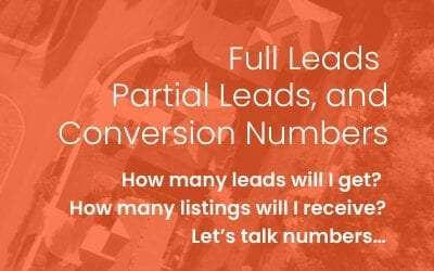 Full Leads, Partial Leads, and Conversion Numbers