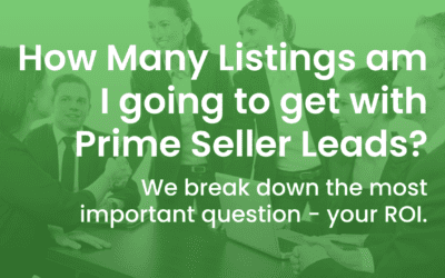 How Many Listings Will I Get With Prime Seller Leads