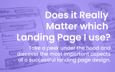 Does it Really Matter What Landing Page I Use?