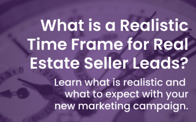 Realistic Time Frame for Real Estate Seller Leads
